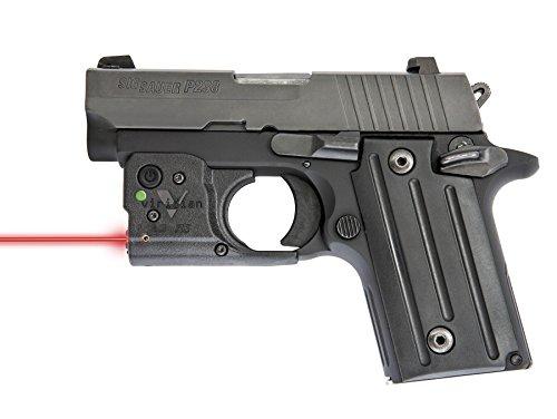 Viridian Reactor 5 - Red Laser Sight Pistol Handgun, Tactical Red Laser, ECR Instant On Technology Holster