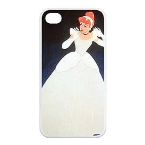 Fairy Tale cinderella Custom Fantastic Design TPU Case Protective Skin For Iphone 4 4s iphone4s-NY010