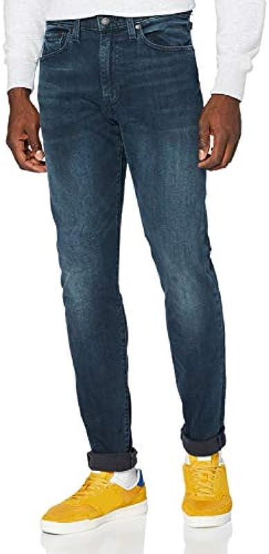Levi's Męskie dżinsy 512 Slim Taper Fit: Odzież