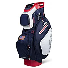 Sun Mountain c-130 cart bag c-130 redesigned the newly redesigned Sun Mountain c-130 cart bag offers 14 individual club dividers that run the full length of the bag to protect and organize clubs, with reverse-orientation to make accessing clu...