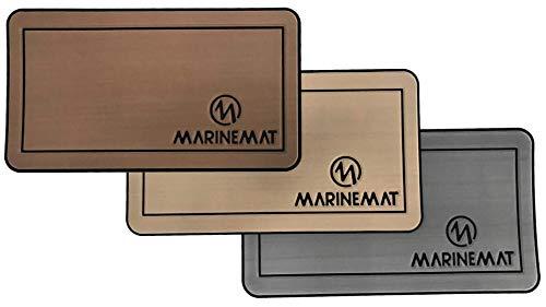 Marine Mat Cooler Pad, fits: RTIC 45 (Aegean Blue/Black - Brushed Texture - 6mm)