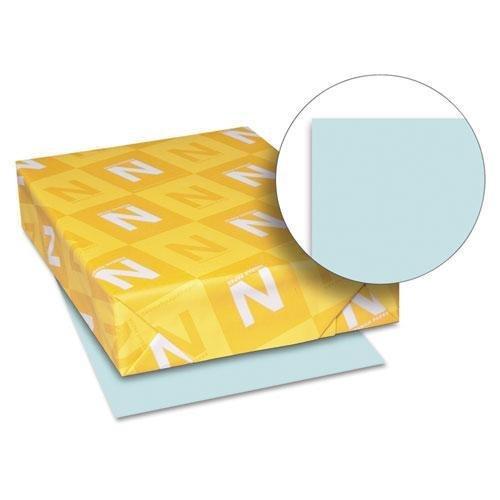 xact Index Card Stock, 90lb, 8 1/2 x 11, Blue, 250 Sheets ()