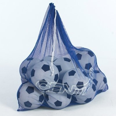 Central Large Capacity Ball Games Training Seccion Holdall Fine Mesh Carry Bag