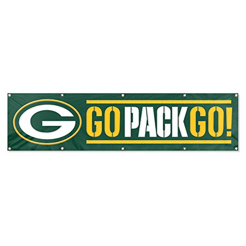 - Party Animal Genuine Packers 8ft X 2ft Banner