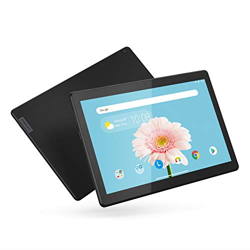"Lenovo Smart Tab M10 HD 10.1"" Android Tablet 16GB with Alexa Enabled Charging Dock Included, Android Pie, ZA510007US, Slate Black"
