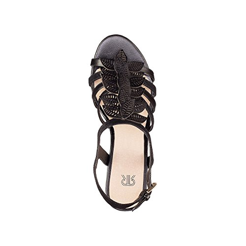 Womens La Redoute Strappy Sandals Black SS5Zn