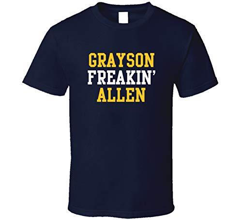 Grayson Freakin Allen Utah Basketball Player Sports Fan T Shirt XL Navy