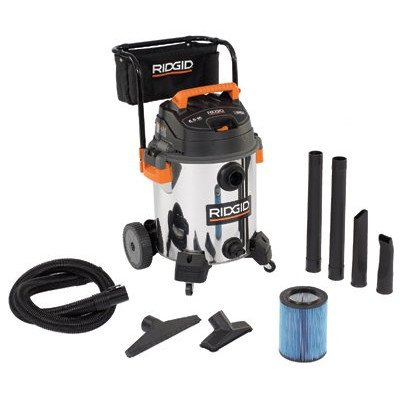 16 Gallon 6.5 Peak HP Ridgid – ProVac Series Wet / Dry Vacuum