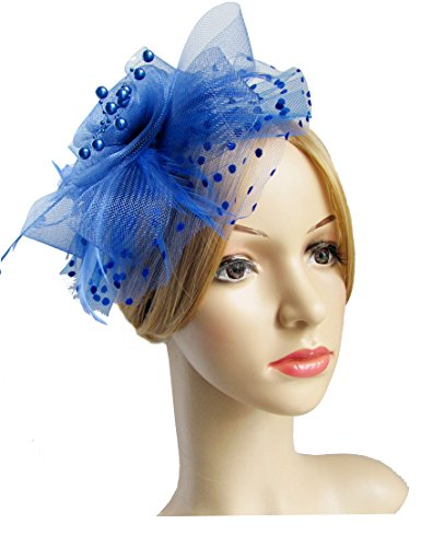 Flower Cocktail Headwear Feather Fascinators product image