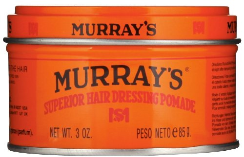 Murray's Superior Hair Dressing Pomade, 3 Ounce (Pack of (Murrays Pomade)