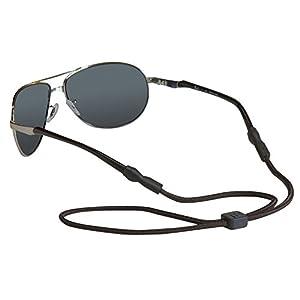 Chums Universal Fit Rope Eyewear Retainer, Black
