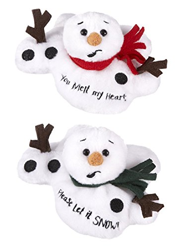 Ganz Melting Sentiments Snowman (Set of 2)]()