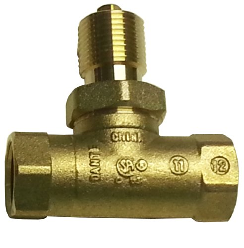 Dante Products 1/2- inch, Straight, Quarter-Turn Ball Valve (Turn Ball)