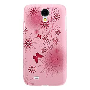 JAJAY-Magical Butterflies and Flower Pattern Noctilucent Hard Case for Samsung Galaxy S4 I9500