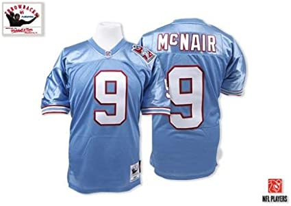 Steve McNair Tennessee Oilers Jersey
