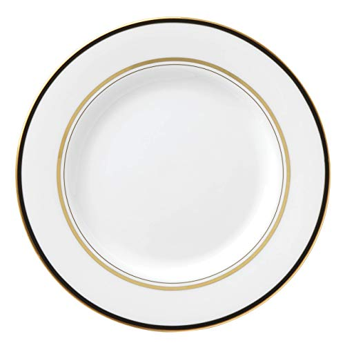 kate spade New York 871087 Library Lane Black Salad Plate