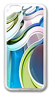 Abstract Curve Rugged iPhone 5s Cases, pc hard Case for Apple iPhone 5sinch) white