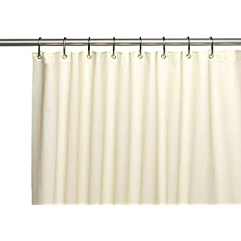 royal bath extra heavy 10 gauge peva non toxic shower curtain liner with metal. Black Bedroom Furniture Sets. Home Design Ideas