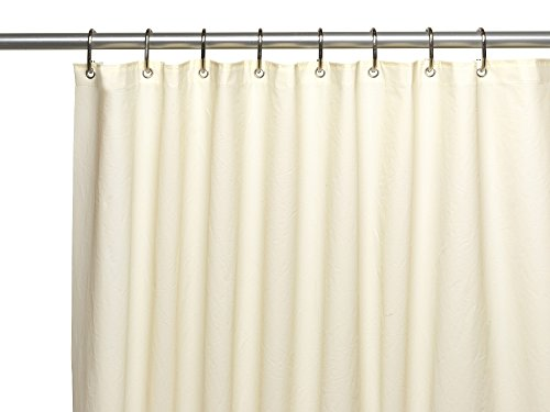 Royal Bath Extra Heavy 10 Gauge PEVA Non-Toxic Shower Curtain Liner with Metal Grommets (72