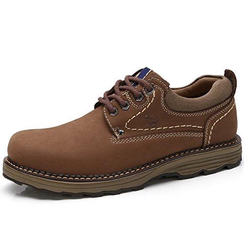 - CAMEL CROWN Men's Uniform Work Boots Lightweight Work Shoes Casual Off-Road Cowboy