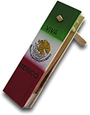"""DEMIL Traditional Matraca Toy Noise Maker for Games, Parties and Sports 10"""" inches"""