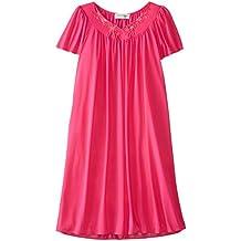 Miss Elaine Women's Tricot Short Nightgown