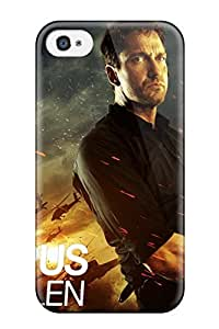 High Grade Rachel B Hester Flexible Tpu Case For Iphone 4/4s - Olympus Has Fallen American And Blinds