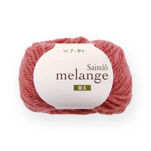505 Apple ([10 balls one bag] wool melange Saint-Lo hair mixed melange> NamiFutoshi 505. apples)