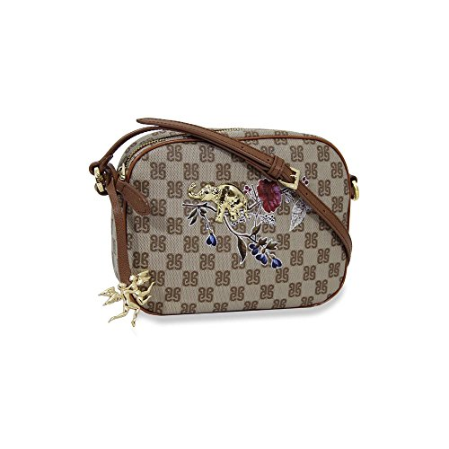 Piero Guidi borsa donna tracolla piccola Pg Monogramma Plus India cuoio - 6109A3091.11