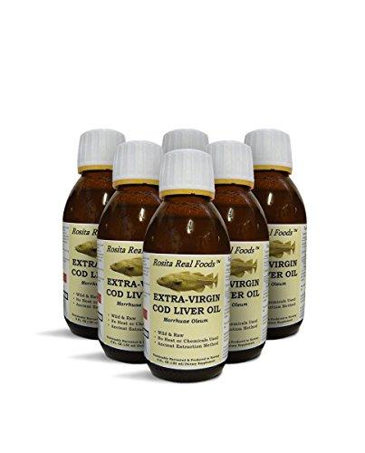 Rosita Extra Virgin Cod Liver Oil - EVCLO (x6) - Buy Online