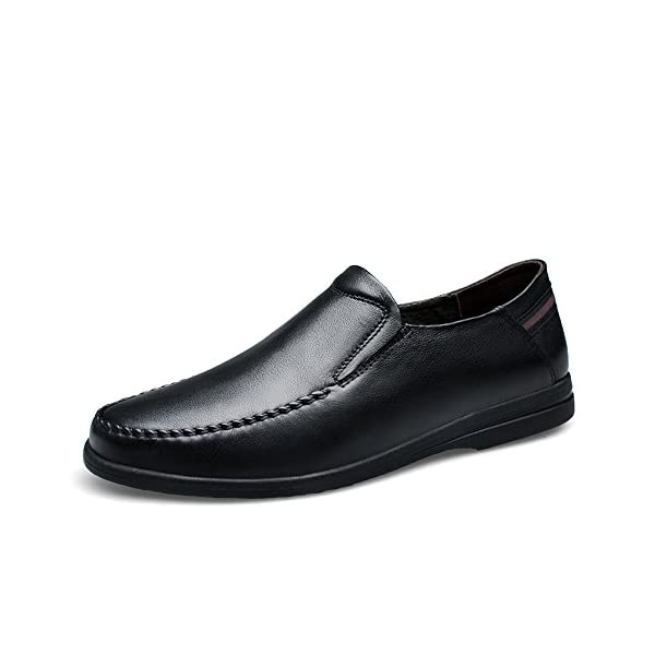 First Layer of Cow Leather Business Casual Shoes Loafers & Slip-Ons Shoes for Men