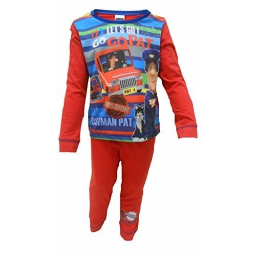 cheap Toddler Boys Postman Pat Pyjamas Sleepwear Nightwear In Ages 12-18M to 3-4Y hot sale
