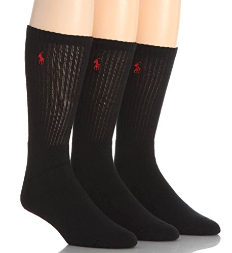 Polo Ralph Lauren Crew Sport Socks 3-Pack, One Size, - Polo Lauren Ralph
