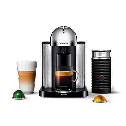 Breville BNV250CRO Nespresso Vertuo, Espresso Machine, Chrome