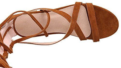 Women's Yellow Rome Sandals Rome Out Hollow Laruise Pqx7aOa