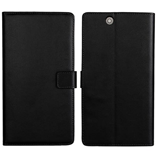 PIZU Leather Case Flip Cover for Sony Xperia Z Ultra XL39h C6802 C6806 C6833/Black