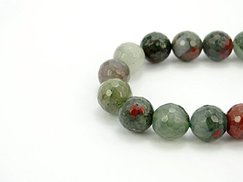 jennysun2010 Natural African Blood Stone Gemstone 10mm for sale  Delivered anywhere in Canada