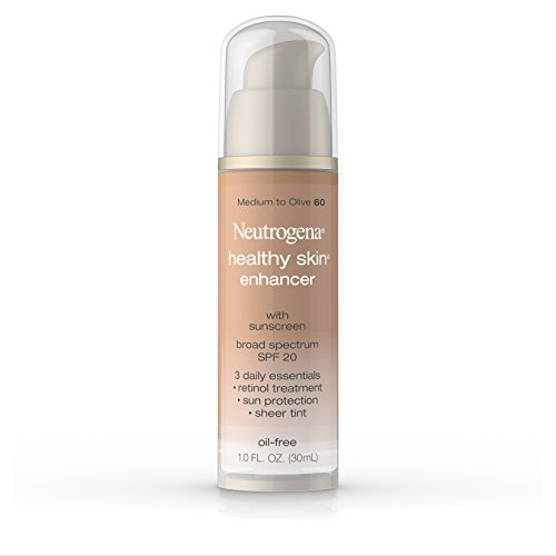 Neutrogena Healthy Skin Enhancer Broad Spectrum Spf 20, Medium To Olive 60, 1 Oz. (Pack of 2) - 1 Skin Enhancer