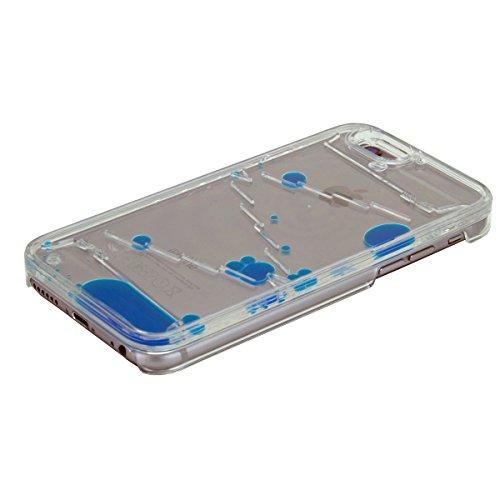"""Hard Case Schutz Hülle """"Blue Liquid"""" für """"Apple Iphone 5"""" Handy Tasche Schale Cover Schutz Hülle Bumper Back Case"""