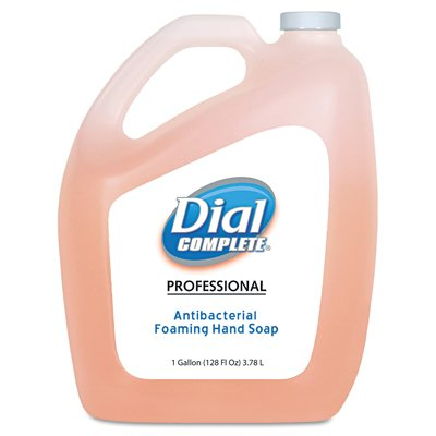 Dial Complete 1434633 Antimicrobial Foaming Hand Soap, 1 Gallon Bottle (Pack of 4) (Dial Hand Soap Bulk compare prices)