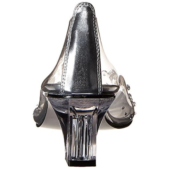 Funtasma Crystal-100 Clr Lucite Uk 9 eu 42