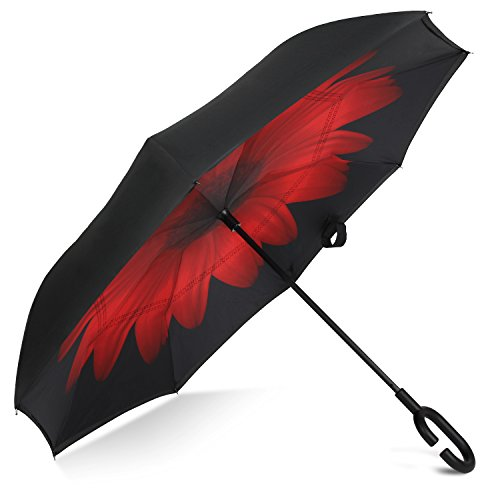 rainlax-inverted-umbrella-double-layer-windproof-uv-protection-umbrellas-blackred-daisies
