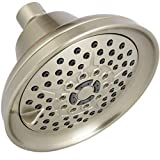 Mist Shower Head High Pressure Multi Function 2.5 GPM Powerful Spray, Best Shower Massage Wall Mount Fixed Shower for Modern Luxury Bathroom, High Flow High Power Adjustable Brushed Nickel Shower Head