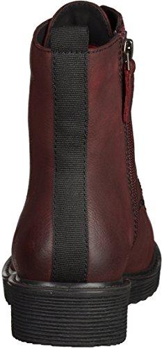 Tamaris1-25289-33-537 - botines de caño bajo Mujer Rojo - Merlot