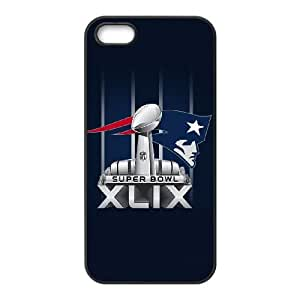 New England Patriots iPhone 5 5s Cell Phone Case Black 218y3-161518