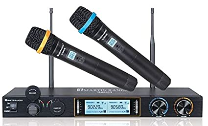 Amazon Martin Ranger U 6800R Metal Dual Channels UHF 900MHz