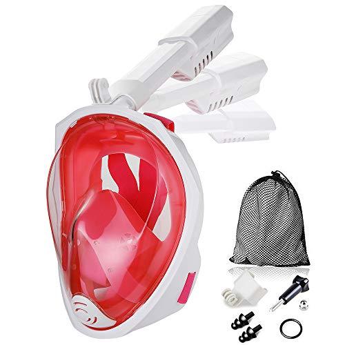Jasonwell Snorkel Mask Full Face 180