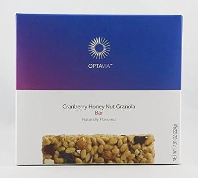 Optavia Cranberry Honey Nut Granola Bar - 7 Servings