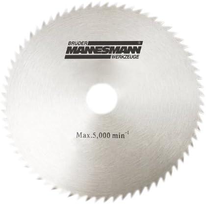 Mannesmann 254 x 25,4 mm Hoja de sierra de recambio de M12830 12835 M12831