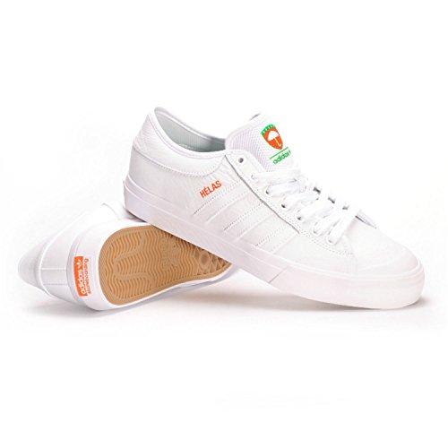 Adidas Matchcourt X Helas (White/White/White) Men's Skate Shoes 85%